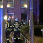 Feuer in Agentur für Arbeit
