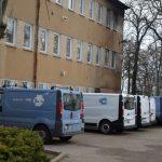 Brandanschlag auf Fuhrpark der LWB (Leipziger Wohnungs- und Baugesellschaft)