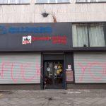 Farbgläser gegen CDU-Büro und Immobilien-Verband
