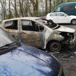 Zwei Autos der Burschenschaft Rheinfranken abgebrannt
