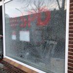 Scheibe bei SPD-Büro eingeworfen