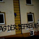 Farbbeutel gegen Landratsamt und Wohnhaus von AfD-Politiker