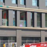 Luxusgebäude angegriffen