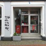 Scheiben bei SPD-Büro zerstört