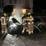 Auto von Vadim Derksen (AfD) angesteckt